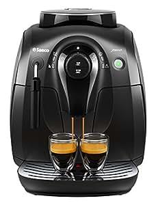 Saeco HD8645/47 X-Small Vapore Espresso Machine, Black