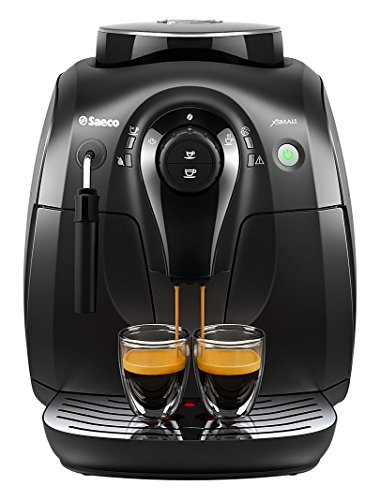 Saeco X-Small Vapore Automatic Espresso Machine, Black, HD8645/47 Auto Espresso Machine
