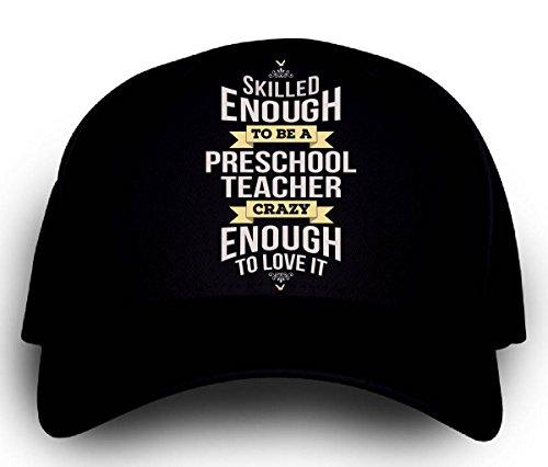 Teacher Trucker Hat (Personalized Gift For A Crazy Preschool Teacher -)