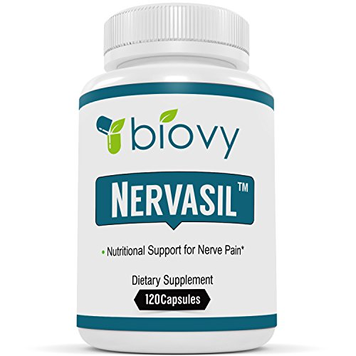Nervasil™ #1 Supplement For Healthy Nerves & Nerve Repair by Biovy - Specially Formulated To Be The Most Effective Support For Nerve Health On The Market
