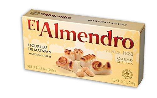 El Almendro Marzipan Shapes (Fuguritas De Mazapan) 7.5oz Single Box - Product of