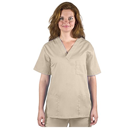 98.6 Nurse Scrubs for Men & Women: Unisex Medical Nursing Tops Uniform V-Neck Top XL ()
