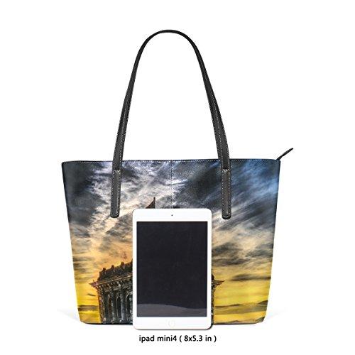 Bennigiry Women's Top Handbags Bundestag Shoulder Satchel Large Purse Tote Bags Handle ppwBr