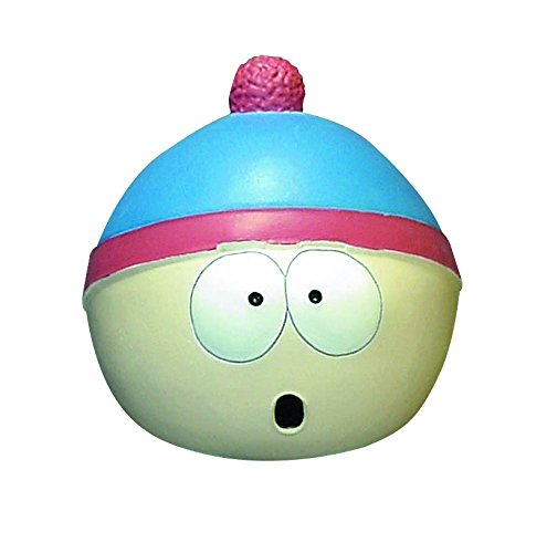 South Park Stan Overhead Latex Mask, Multi Color, One Size]()