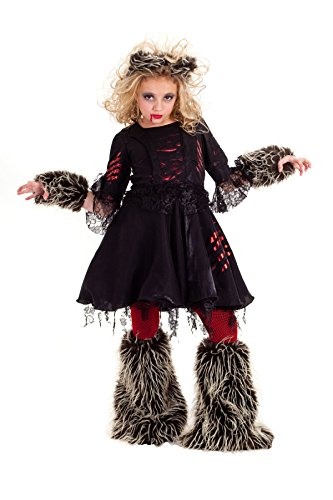 Princess Paradise Tween Howlette Costume, Multicolor, Tween (Werewolf Girl Dress Up)