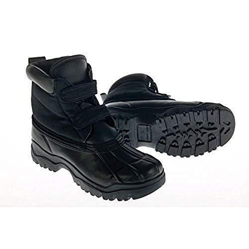 Dublin Childrens/Kids Yardmaster Touch Fastening Boots (Juniors 3) (Black) by Dublin (Image #1)