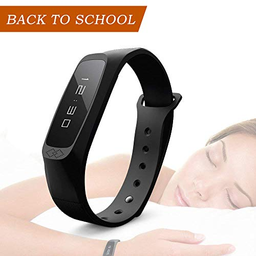 Oaxis Fitness Tracker Heart Rate Monitor Alarm Watch - Smart Wristband...