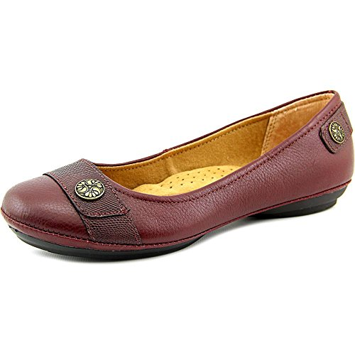 softspots Women's Satara Slip-On,Red Calf Ionic/Lizard Print,US 9.5 M