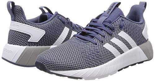 de Deporte para Questar Raw adidas BYD Ink Zapatillas Tech White Hombre Ftwr Azul S18 Grey ctyTIFq