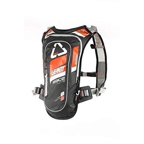 Leatt GPX 2.0 Race HF Hydration Pack-Orange/Black