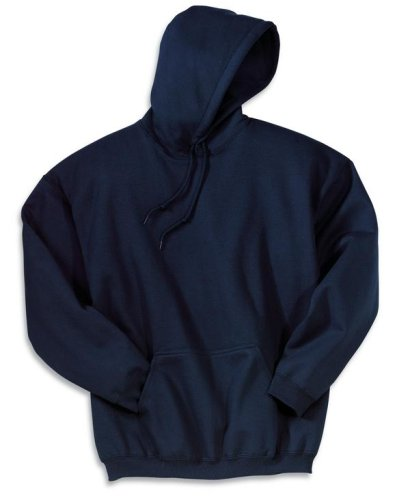 Gildan 9500 9.5 oz., 80/20 Ultra Cotton Hoodie XL White (20 Boxy Pullover)