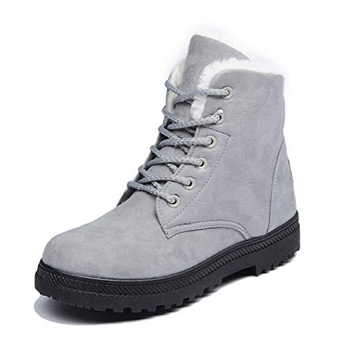 Kyle Walsh Pa Women Classic Snow Boots Warm Fur Lace-up Sued
