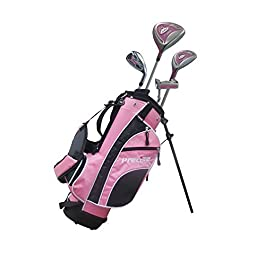 Junior Golf Club Set for Ages 3 to 5 (Left Hand) – Height 3ft to 3'8″ Inches