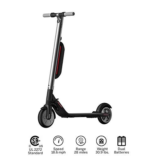 Price comparison product image Ninebot KickScooter ES4 by Segway w 2nd Battery- Pro Electric Kick Scooter for Adults Offroad- Mobility Folding e Scooter Upgraded Motor