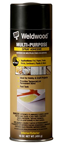 Dap 118 16-Ounce Weldwood Multipurpose Spray Adhesive (Multi Purpose Floor Weldwood)