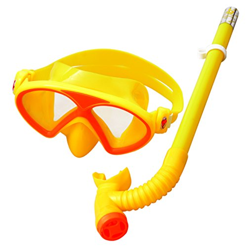 (YITU Kids Silicone Scuba Swimming Swim Diving Mask Snorkel Glasses Set Anti Fog Goggles Kids Silicone Scuba Swimming Swim Diving Mask Snorkel Glasses Set Anti Fog Goggles)