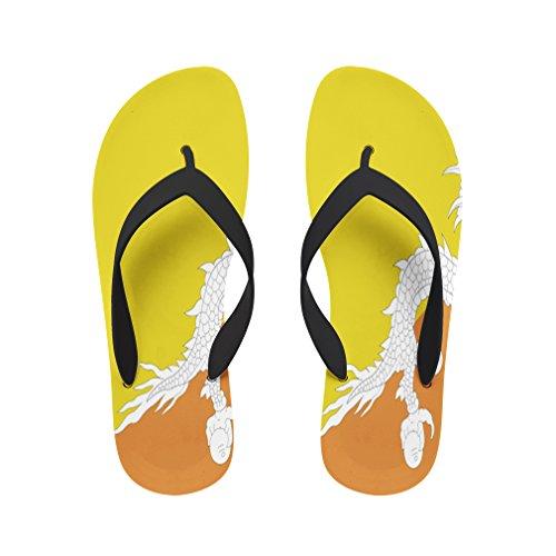 Style in Print Bhutan Beach Flip Flops Medium