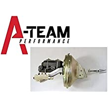 """A-Team Performance 11"""" Power Brake Booster Master Cylinder Proportioning Valve Kit Compatible With Chevelle Camaro"""