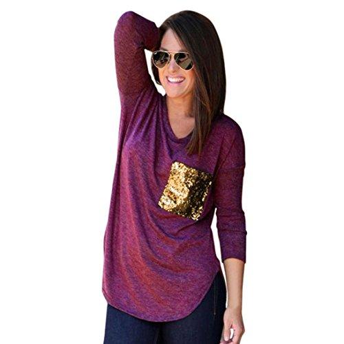 Amazon.com: Venta de liquidación. Mujer Camisa, wintialy ...