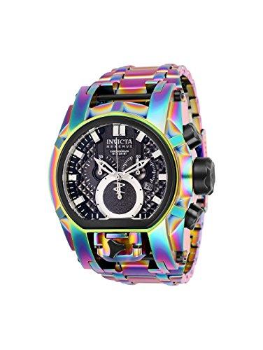 Invicta Reserve Men's 52mm Bolt Zeus Magnum Swiss Quartz Dual Movement Iridescent Bracelet Watch -  25212