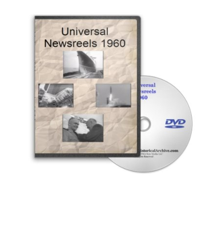 (News of the Day 1960 - Universal Newsreels Including Atlas ICBM Launch, Mexican Independence Celebration, Louis Armstrong, Krushchev, Moscow May Day Parade, Echo I Satellite, X-15 Rocket Place, Castro and Guantanamo Bay and Much More)