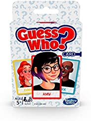 Hasbro Gaming Guess Who? Card Game for Kids Ages 5 and Up, 2 Player Guessing Game