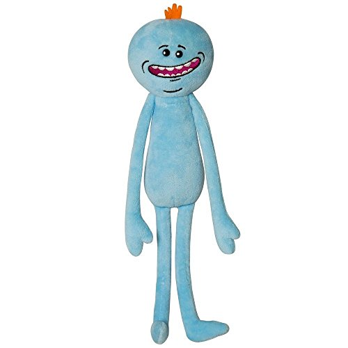 Shalleen NEW Rick And Morty Adult Swim Stuffed Plush Happy Mr Meeseeks Gift