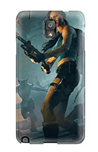 High Impact Dirt/shock Proof Case Cover For Galaxy Note 3 (tomb Raider) 2153176K16147906