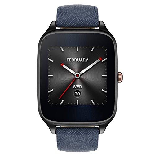 Asus ZenWatch 2 WI501Q Smartwatch Con Cinturino In Pelle, Blu ...