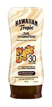 Hawaiian Tropic Silk Hydration Sunscreen Lotion, SPF 30 180ml