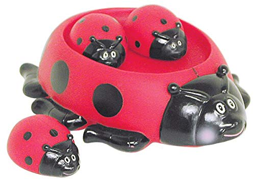 Ladybug Family Kids Bath Toy Set for Toddlers Fun Water Toys