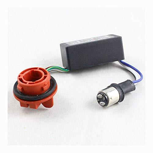 Colors Assortment Hyper (1157 BAY15D Socket Led Bulb Flickering Error Code Canceller Resistor Decoder 12V)