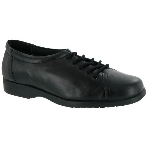 Amblers Fulham Lace Up Shoe / Womens Shoes (6 US) (Black) by Amblers (Image #1)