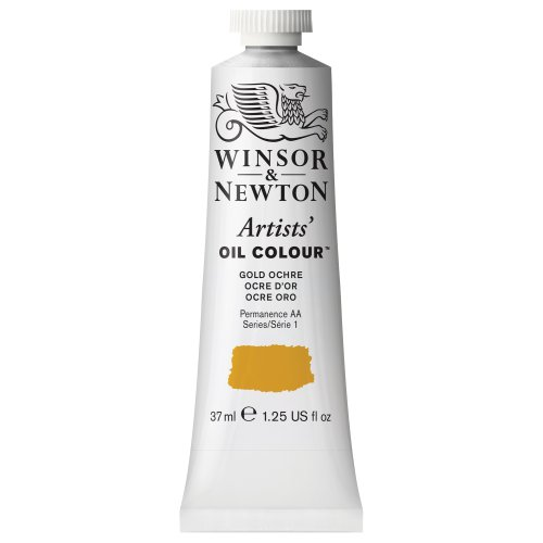 Winsor & Newton Artists Oil Color Paint Tube, 37ml, Gold Ochre