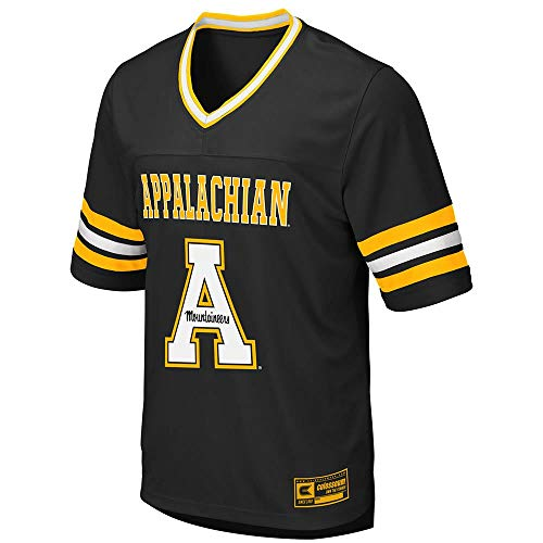 (Colosseum Mens Appalachian State Mountaineers Football Jersey - XL )