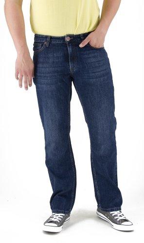 HIS Jeans Hose Randy, 102-10-1008, pure blue, W32 L32