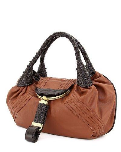 Designer Inspired Oversized Spy Handbag - (Spy Brown Handbag)