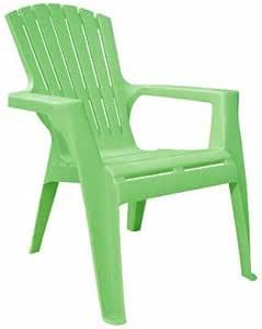 Adams 8460-08-3731 Kid's Adirondack Stacking Chair, Summer Green
