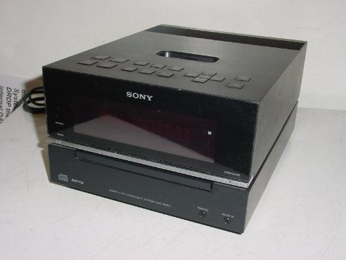 Sony HCD-BX20i CD Compact Disc Player AM/FM Radio with iPod dock/Amp System, Main System Unit Only,