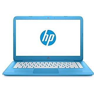 "HP Stream 14-cb011wm, 14"" HD Display, Intel N3060, 4GB RAM, 32GB SSD, Windows 10 Home S Mode, Blue (Renewed)"