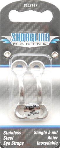 Shoreline Marine Stainless Steel Eye Strap (Pr)