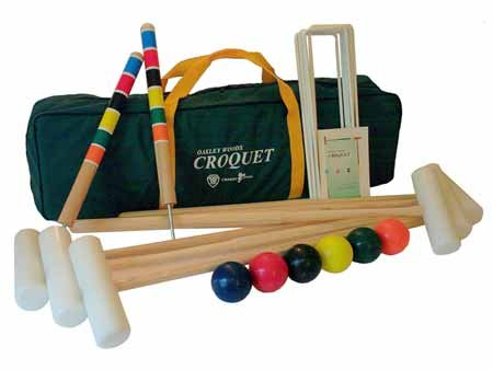Oakley Woods Extreme 6-Player Croquet Set by North Meadow Croquet