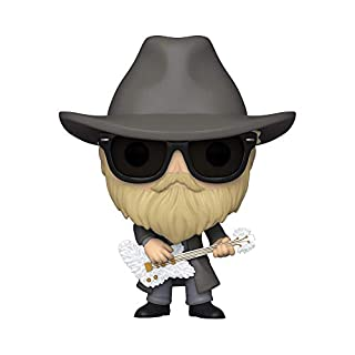 Funko POP Rocks: ZZ Top- Dusty Hill, Multicolor