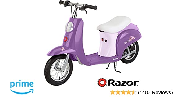 Razor Pocket Mod Miniature Euro Electric Scooter on