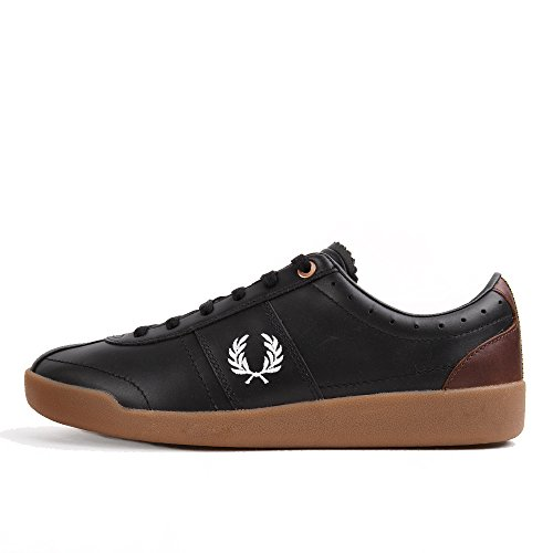 Fred Perry Stockport Leather Bradley Black Black