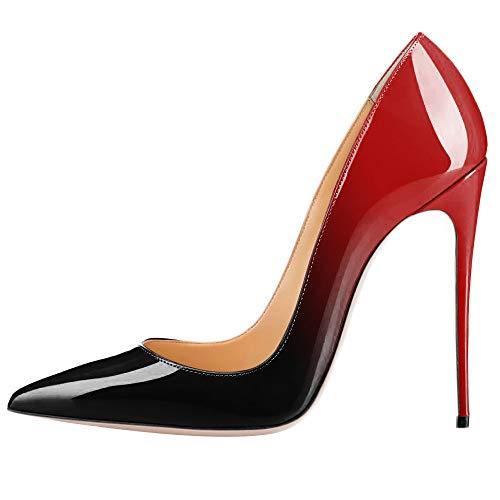 À Stiletto Rouge Cm Verni Mariée 10 Hauts Chaussures De Bal Femmes Vacances Discothèque Casual Toe De Talons Cuir Sexy Cour Parti CwqBnx45