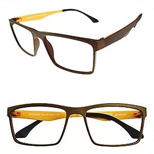 Agstum Mens Ultem Flexible Optical Eyeglasses Frame Myopia Glasses Rxable