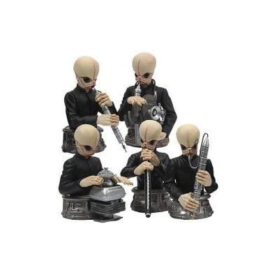 Bust-Ups: Cantina Band Boxed Set by Gentle Giant: Toys & Games