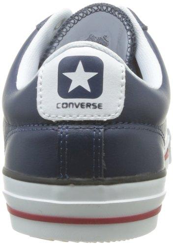 Converse Sp Ev Cuir Ox 066740-520-12 - Zapatillas de cuero unisex Azul (Blau (Marine))