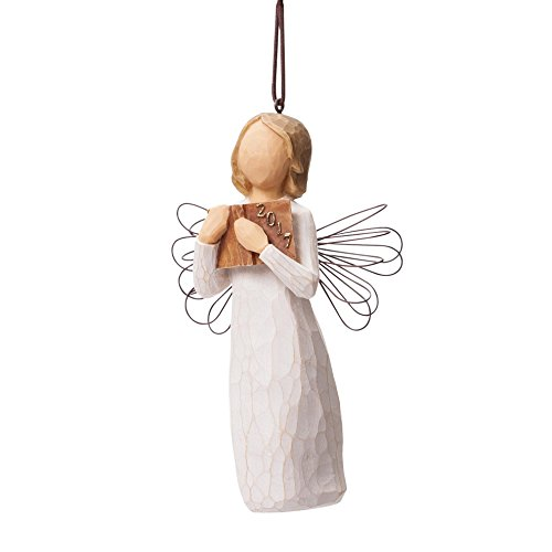 Willow Tree 2017 Angel Ornament Christmas Tree Ornament Decoration Deal (Large Image)